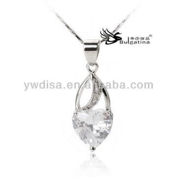 925 prata esterlina encantos pingente de cristal jade SP5143