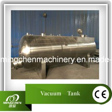 Tanque de vácuo para reciclagem de óleo residual