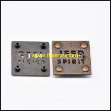 Высокое качество металла тег кнопки для мешка