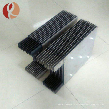 high quality professional MMO coated titanium anode with TUV certificate