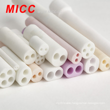 MICC High temperature resistance excellent insulating 4 holes alumina ceramic tube