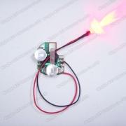 LED que destella el módulo, luz de destello del LED, módulo del LED