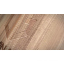 aluminum clad oak wood crank casement window for house