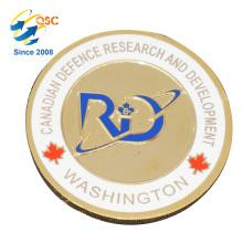 Presentes de coleção promocional Custom Challenge Coins Fabricante Moeda de alta qualidade