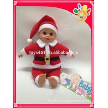 Heiße Verkauf preiswerte Babypuppen lebensechten Vaterweihnachtsbaby Puppespielzeug