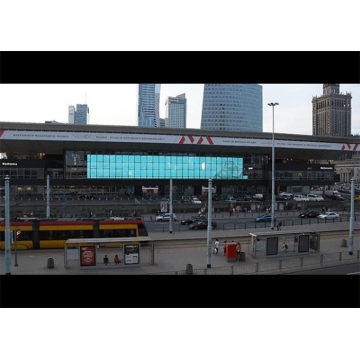 High Brightness Lightweight Curtain Mesh LED Display