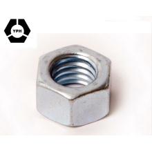 Écrous hexagonaux de haute qualité ISO4032 galvanisés à chaud