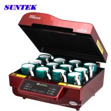 Suntek Combo Becher Telefon Fall 3D Wärmeübertragung Maschine