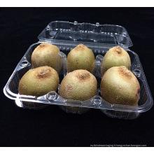 impression personnalisée Kiwi fruits en plastique boîte d'emballage (plateau de nourriture)