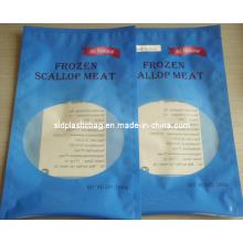 Bule Color Russian Plastic Food Bag (L156)