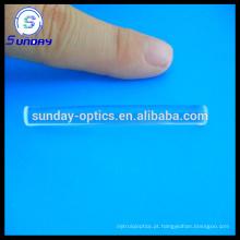 Optical bk7 glass k9 lentes de haste de forma redonda de vidro