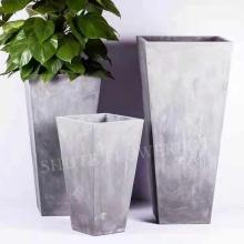 Pots de fleurs pour planteurs de ciment en vrac populaires occidentaux