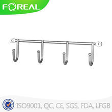 Chromed Metal Wire Fours Hooks