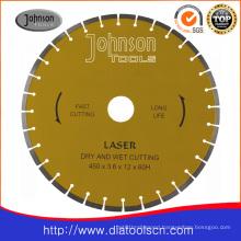 Saw for Concrete: 450mm Diamond Laser Welding Saw Blades