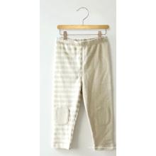 Pantalones de bebé hechos con algodón orgánico de fábrica en China