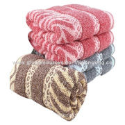 Face Towels, 100% Cotton Velour with Pigment Print, OEM Orders Welcomed