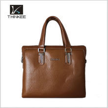 Black famous brand real leather bags men handbag wholesale