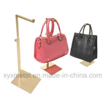 Stainless Steel Color Brushed Handbag Bag Hanging Display Rack
