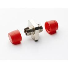 Adaptador de fibra óptica FC Tipo cuadrado Adaptador de fibra óptica FC Metal