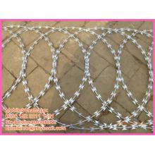 Защитный зажим BT0 укрепляет поперечную сварную сетку из колючей проволоки
