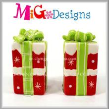 Einzigartige Customed Weihnachtsartefakt-Keramik-Dekoration