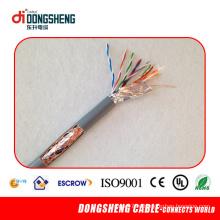 FTP Cat5e кабель с сертификацией CE, ISO, Rohs