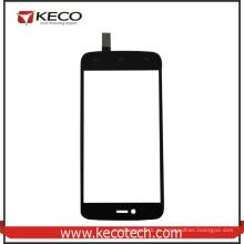 Китай Оптовая Черный мобильный телефон Новые части сенсорного стекла панель для Fly IQ4411