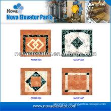 Passagier Aufzug Kabine PVC-Boden mit Muster, Aufzug Ersatzteile