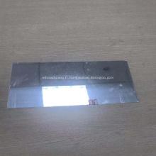 Plaque de tôle miroir aluminium uni