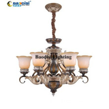 Clasic Pendant Lights European Style Steel and Resin Material
