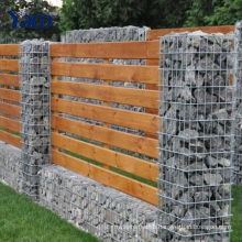 decorative garden fencing Seal Gabion Basket Retaining Wall , Stone Baskets For Retaining Walls 2.0mm