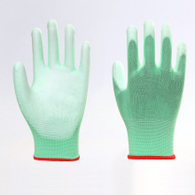 Polyester Liner with PU Coated Work Gloves