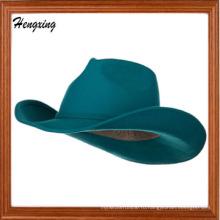 Бирюза женщины войлок ковбойские шляпы