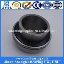 Fabricante Proveedor de Oro De alta velocidad, la mejor calidad del bloque de almohada de acero cromado SER206 insertar cojinete de bolas