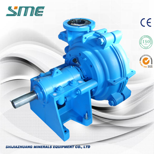 Horisontell Surface Gummi Slurry Pump