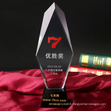 Manufacturer High Quality Glass Award Crystal Trophy for Crystal Gifts