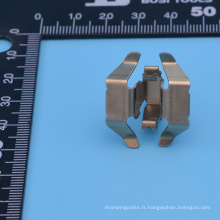 Pièces d'estampage en métal de haute précision personnalisées