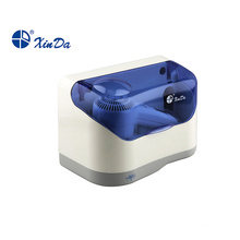 Low power hair dryer with plastic protective cover