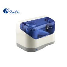 Secador de cabelo de baixa potência com capa protetora de plástico
