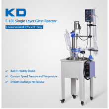 Small+Capacity+Lab+Single+Glass+Reactor+Price