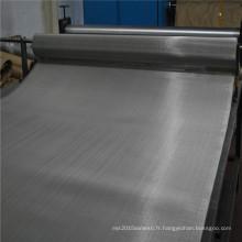 50micron acier inoxydable fine treillis métallique