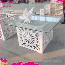 banquet table used for wedding