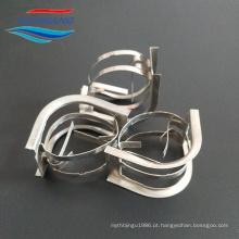 Metal Intalox Sela torre de embalagem. Sela de carbono