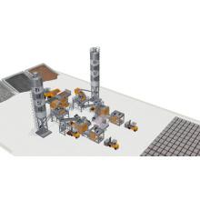 Simple Automatic Block Production Line (Double Lines)