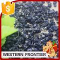 whole shape and dried style organic black goji berry