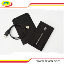 2.5 USB2.0 Black SATA Múltiplo disco rígido Enclosure