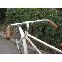 Manillar de la bicicleta del vintage Partes de la bicicleta del manillar de la bicicleta del retro de aluminio