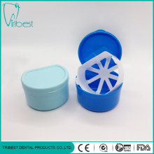 Plastic Colorful Portable Dental Box With Net