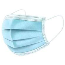 Masques médicaux jetables avec boucles d'oreille tricotées