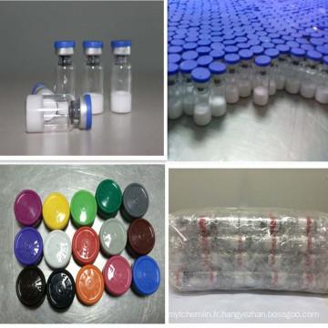 PT-141 Bremelanotide 10mg Peptide lyophilisé Haute Pureté PT141 Sexe Appel Peptide Hormone Swept USA